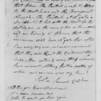 Samuel Culper to Benjamin Tallmadge, September 21, 1782